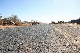 Trans-Sahara Highway - Trans-Sahara Highway near Tamanrasset)