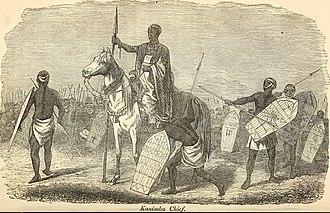 Kanembu people - Kanembu chief, ca. 1851
