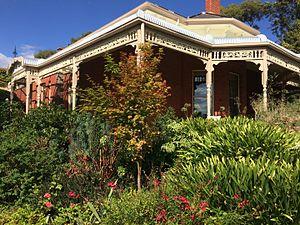 Trelawny, Black Hill, Ballarat - Trelawny and garden at 804 Havelock St., Black Hill, Ballarat