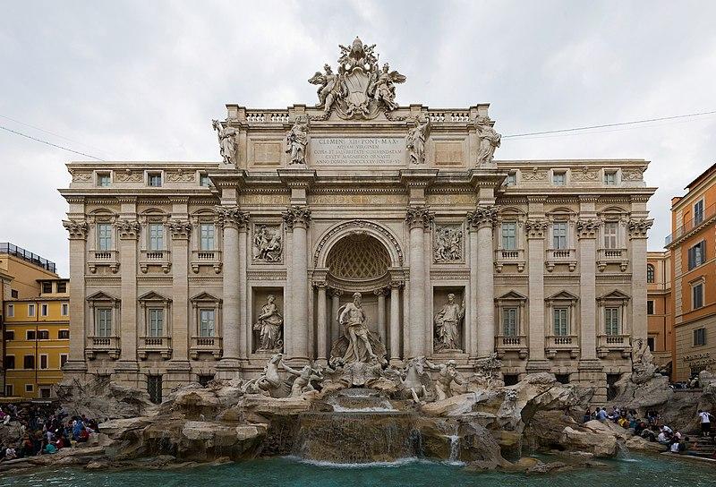 La fontaine de Trevi 800px-Trevi_Fountain%2C_Rome%2C_Italy_-_May_2007