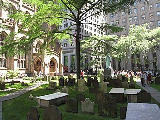Trinity Church Cemetery Cemetery in New York City