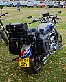 Triumph Rocket III motorcycle at Hatfield Heath Festival 2017 - rear.jpg