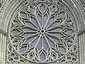 Trondheim - Cathédrale de Nidaros - Rosace.JPG