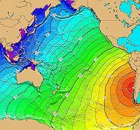 Tsunami travel time Valdivia 1960.jpg