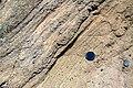 Tuff layers on the flanks of tuff ring Caldera Blanca on Lanzarote, June 2013 (11).jpg