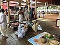Tula Dana donation balance inside the Hindu Mahadeva Temple, Ettumanoor Kerala.jpg