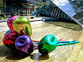 Tulips sculpture Jeff Koons Nord-LB office building Hanover Germany 01.jpg