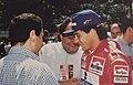 Tullio Abbate and Ayrton Senna.jpg