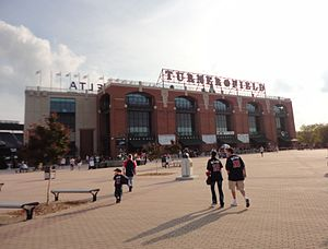 2011 Atlanta Braves season - Turner Field two hours before the start of the final game of the season.