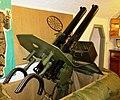 Twin .50-calibre AA Machine Guns, Army Museum, Halifax Citadel, Halifax, Nova Scotia.JPG