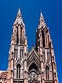 Twin Spires of St. Philomena's Church, Mysore.jpg