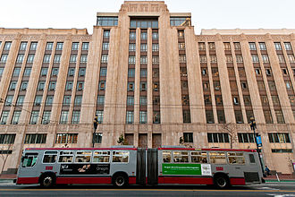 Twitter - Twitter's San Francisco headquarters located at 1355 Market St.