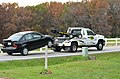 Two car accident temporarily closes Rock Quarry Road (15468506997).jpg