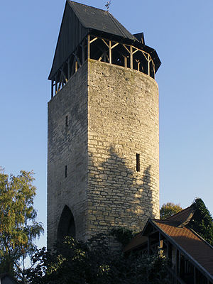 Korbach - Tylenturm tower.
