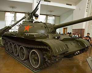 Type 59 tank - A Chinese Type 59 tank at the Beijing Military Museum