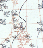 Typhoon Elsie surface analysis 17 July 1964.png