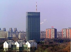 Ušće Tower - Ušće Tower in 2005