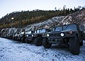 U.S. Marines prepare gear for transport to Arctic Circle 161019-M-DT430-002.jpg