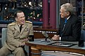 U.S. Navy Adm. Mike Mullen laughs with David Letterman, 2011.jpg