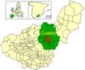 UBICACION Guadix en partido judicial de Guadix.png