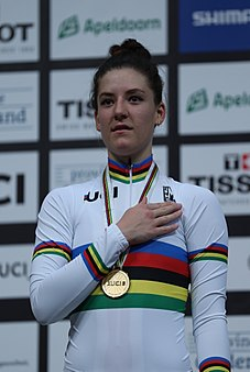 Chloé Dygert American cyclist