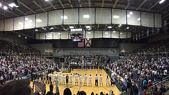 2014–15 North Florida Ospreys men's basketball team - The Ospreys defeated USC Upstate to win the A-Sun Tournament title in front of a record crowd at UNF Arena