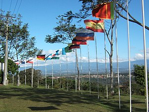 University for Peace - View from Costa Rica Campus