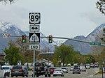 US-89 & SR-151 signs, Apr 16.jpg