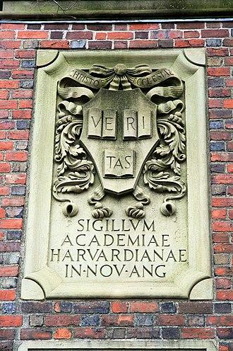 Harvard University - University seal