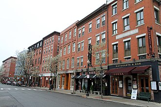 North End, Boston - Hanover Street, 2010
