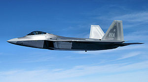 United States Air Force Warfare Center - The first F-22A assigned to the USAFWC