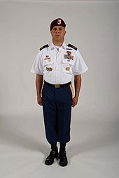 Blue Asu Cl B Uniform With Jump Boots