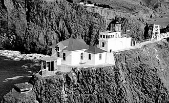 Point Bonita Lighthouse - Image: USC Gpointbonita New