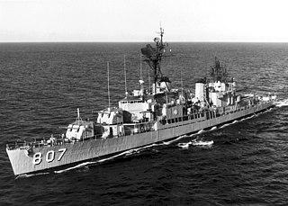 USS <i>Benner</i> (DD-807) Gearing-class destroyer