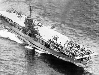 USS Bennington (CV-20) - Bennington in 1954, following her SCB-27A conversion.