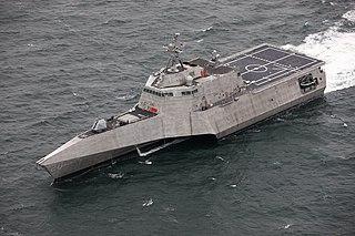 USS <i>Cincinnati</i> (LCS-20) Littoral combat ship of the United States Navy