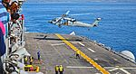 USS Essex (LHD-2) - Helicopter Sea Combat Squadron 23 (HSC-23) MH-60S Knighthawk 168580 (25766761535).jpg