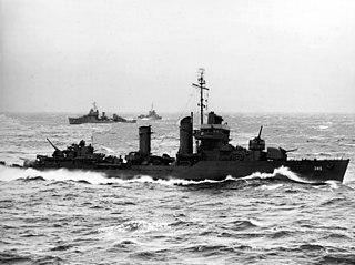 USS <i>Fanning</i> (DD-385) Mahan-class destroyer