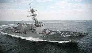 USS Farragut;99 Turn Burn