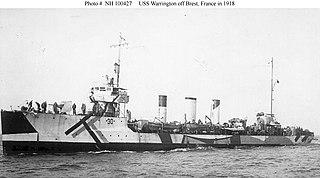 USS <i>Warrington</i> (DD-30)