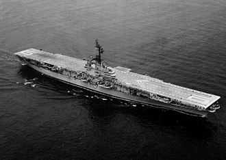 USS Yorktown (CV-10) - Yorktown after the SCB-27A conversion in 1953