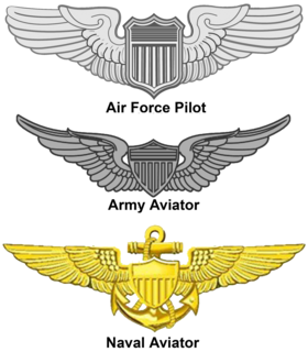 United States Aviator Badge military decoration