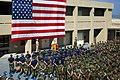 US Navy 020729-N-0000M-023 SECNAV speaks at Naval Special Warfare Command in Coronado.jpg