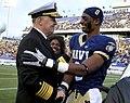 US Navy 101120-N-8273J-301 Chief of Naval Operations (CNO) Adm. Gary Roughead congratulates Navy safety Wyatt Middleton (8).jpg