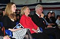 US Navy 110401-N-KD852-385 Chelsea Clinton, left, Secretary of State Hillary Rodham Clinton and former U.S. President William Jefferson Clinton att.jpg