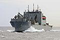 US Navy 110506-N-1004S-381 The Military Sealift Command dry cargo and ammunition ship USNS Richard E. Byrd (T-AKE 4).jpg