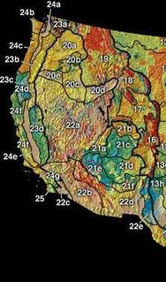 Intermontane Plateaus physiographic division of the United States