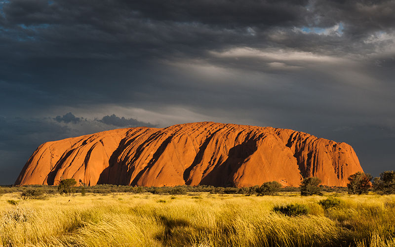 Ulu%E1%B9%9Fu (Ayers Rock), Sunset.jpg