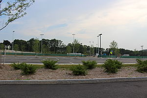 Plymouth North High School - Unfinished athletic fields, the location former Plymouth North High School