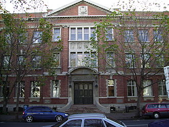 University of Otago Dunedin School of Medicine - The historic Scott Building, formerly used by the Dunedin School of Medicine, is now used by the School of Biomedical Sciences